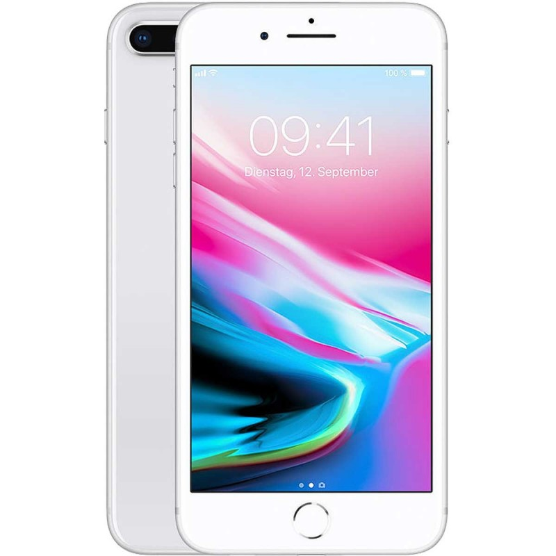 Apple iPhone 8 Plus 4G 64GB silver EU MQ8M2__-A + MQ8E2__-A Apple iPhone 8 Plus 4G 64GB silver EU MQ8M2__-A + MQ8E2__-A su ww...
