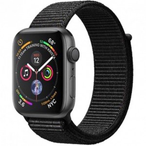 Acc. Bracelet Apple Watch Series 4 16GB space gray 40mm Alu black sport loop Acc. Bracelet Apple Watch Series 4 16GB space gr...